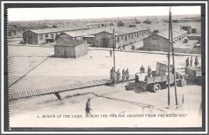 St Nazaire France WW I US Army Camp Parade Grounds No. 6 - [MX-257]