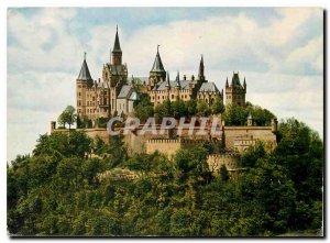 Modern Postcard Burg Hohenzollern 855 m vom Blish Zellerhorn