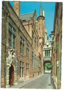 Belgium, Brugge, Blinde Ezelstraat, unused Postcard