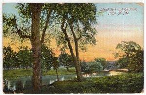 Fargo, N. Dak., Island Park and Red River