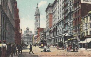 PHILADELPHIA , Pa. , 1909 ; Market Street , West from 11th Street