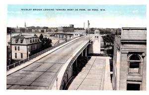 Wisconsin  De Pere , Nicolet Bridge looking toward West De Pere