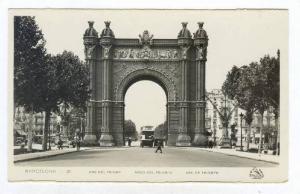 RP  Barcelona , Spain, 20-40s Arc del Triomf