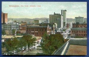 Birmingham Alabama al from Athletic Club postcard