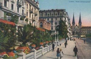 LUZERN, Switzerland, 1900-10s; Hotel Schweizerhof