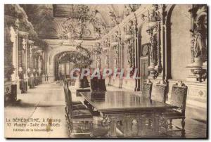 Fecamp - The Benectine Museum Hall of Robespierre Old Postcard