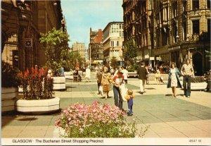 Glasgow Scotland Buchanan Street Whiteholme Ltd Postcard C4
