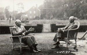 RP; GLEN ELLYN , Illinois, 1947 ; 2 menIn Yard