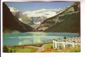 Lake Louise, Mount Lefroy, From Chateau, Alberta, Bryon Harmon Photos