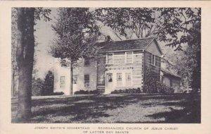 Illinois Joseph Smiths Homestead Reorganized Church Of Jesus Christ Of Latter...