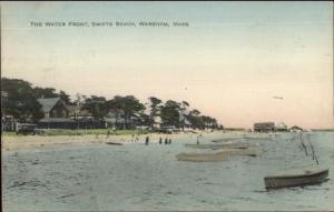 Wareham Cape Cod MA Swifts Beach c1910 Postcard