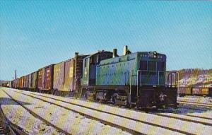 Boston and Maine Yard Switcher No 1204 At Mechanicville New York February 1969