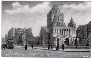 Boston, Trinity Church, Boylston St.
