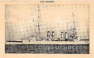 USS Raleigh Unused