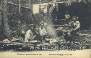Vietnam, Viet Nam,  Nhân Vật  Annamese Camping in the wilds
