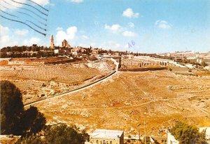 Mt Zion JerUSA lem Israel 1980