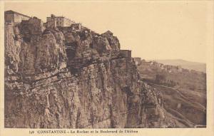 Algeria Constantine Le Roucher et le Boulevard de l'Abime