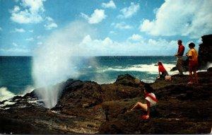 Hawaii Oahu South Shore The Blow Hole