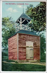 Old Belfry, Lexington MA