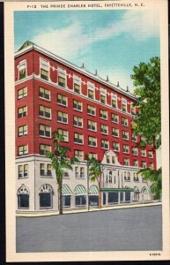 North Carolina ~ FAYETTEVILLE The Prince Charles Hotel - LINEN