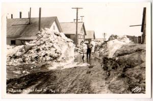 RPPC, Snowdrifter East Front St.