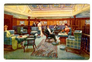 Pacific & Orient Line - Iberia, First Class Observation Lounge  *RPPC