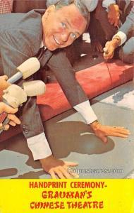Handprint Ceremony, Grauman's Chinese Theatre, Frank Sinatra Movie Star ...