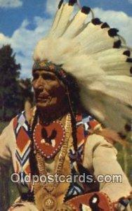 Indian Chief Indian Unused