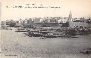 France Cote d'Emeraude, Saint-Malo - Les Remparts, Parties occidentales