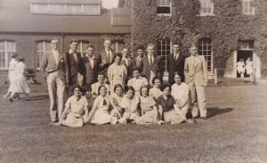 Music Group Farewell Tea Party Graduation Norfolk Postcard & Photo Collection