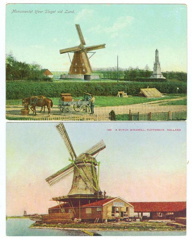 2 - Holland Windmills