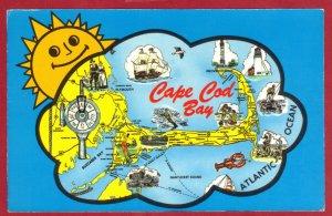 CAPE COD, MASS ,TOURIST MAP   (193)
