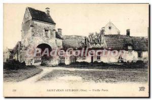 Postcard Old Saint Jean Aux Bois