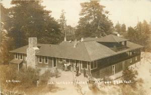 Birdseye Gray San Diego California Mt Wilson Hotel 1909 RPPC Photo Postcard 5730