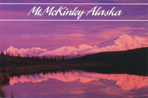 Sunset at Mount McKinley - Denali National Park AK, Alaska
