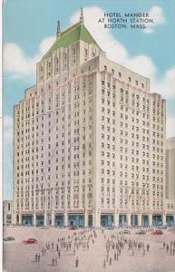 Massachsetts Boston Hotel Manger At North Station