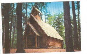 Chapel In The Pines, Erected In 1953 In Honor Of Donald Johnston, Hartwick Pi...