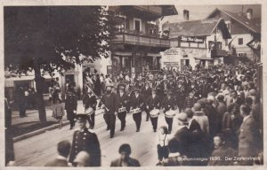 RP; Parade , Oberammergau , Germany , 1930