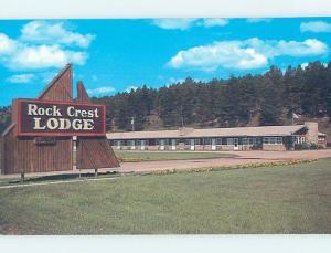 Pre-1980 LODGE SCENE Custer In Black Hills - Near Rapid City SD c5427