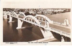 G4287 Australia, Brisbane Grey Street Bridge Photo Postcard
