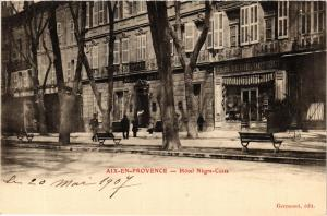 CPA AIX-en-PROVENCE Hotel Negre Coste (339913)