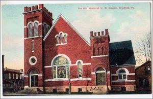 Hill Memorial U. B. Church, Bradford PA