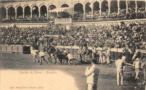 Corrida de Toros - Arrastre Bullfighters Spain 1904 Vintage Postcard