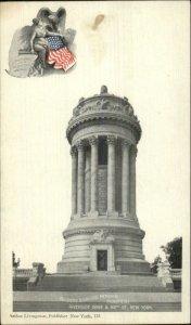 New York City Soldiers Sailors Memorial c1900 Arthur Livingston Postcard