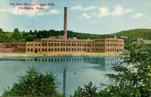MA - Fitchburg. The New Wallace Paper Mill