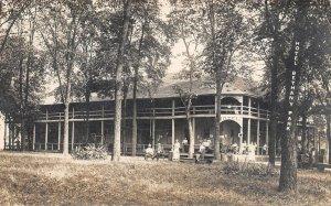 LP90  Bethany Park Indiana Postcard RP Hotel