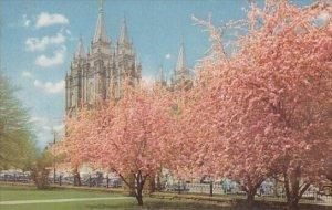 Mormon Temple Salt Take City Utah
