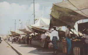Willemstad, Curacao , Netherlands West Indies; Floating Market , 50-60s