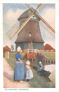Volendam Holland De Watermolen Volendam De Watermolen