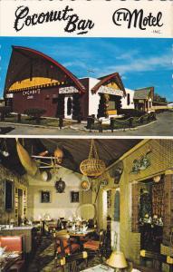 Coconut Bar-Motel , TROIS-RIVIERES , Quebec , Canada , 50-60s